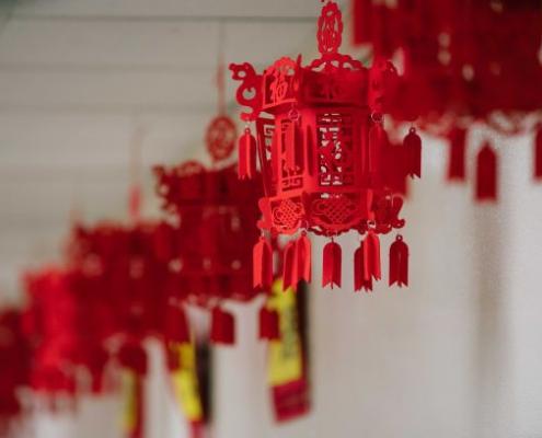 Chinese New Year Holiday Tradition Decor Lantern